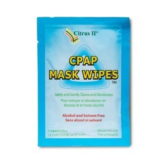 Individual CPAP Mask Cleaner Wipes